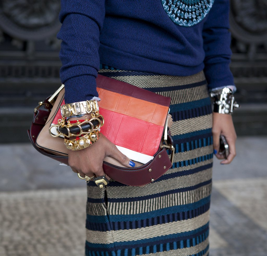 paris fashion week street style shoes accessories fall