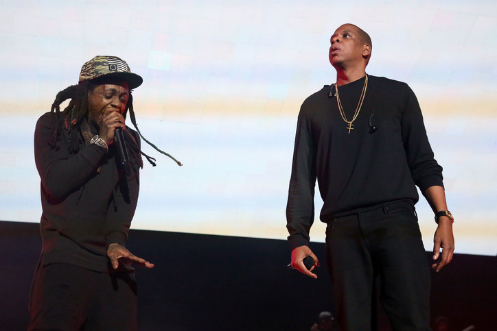 Lil' Wayne Hints At Roc Nation Deal, During Camp Flog Gnaw Performance