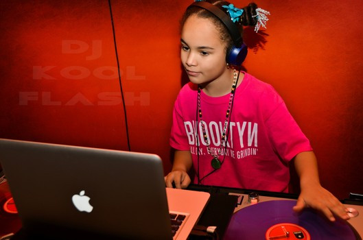 "9-Year-Old DJ Kool Flash is ""The Youngest DJ in Charge"""