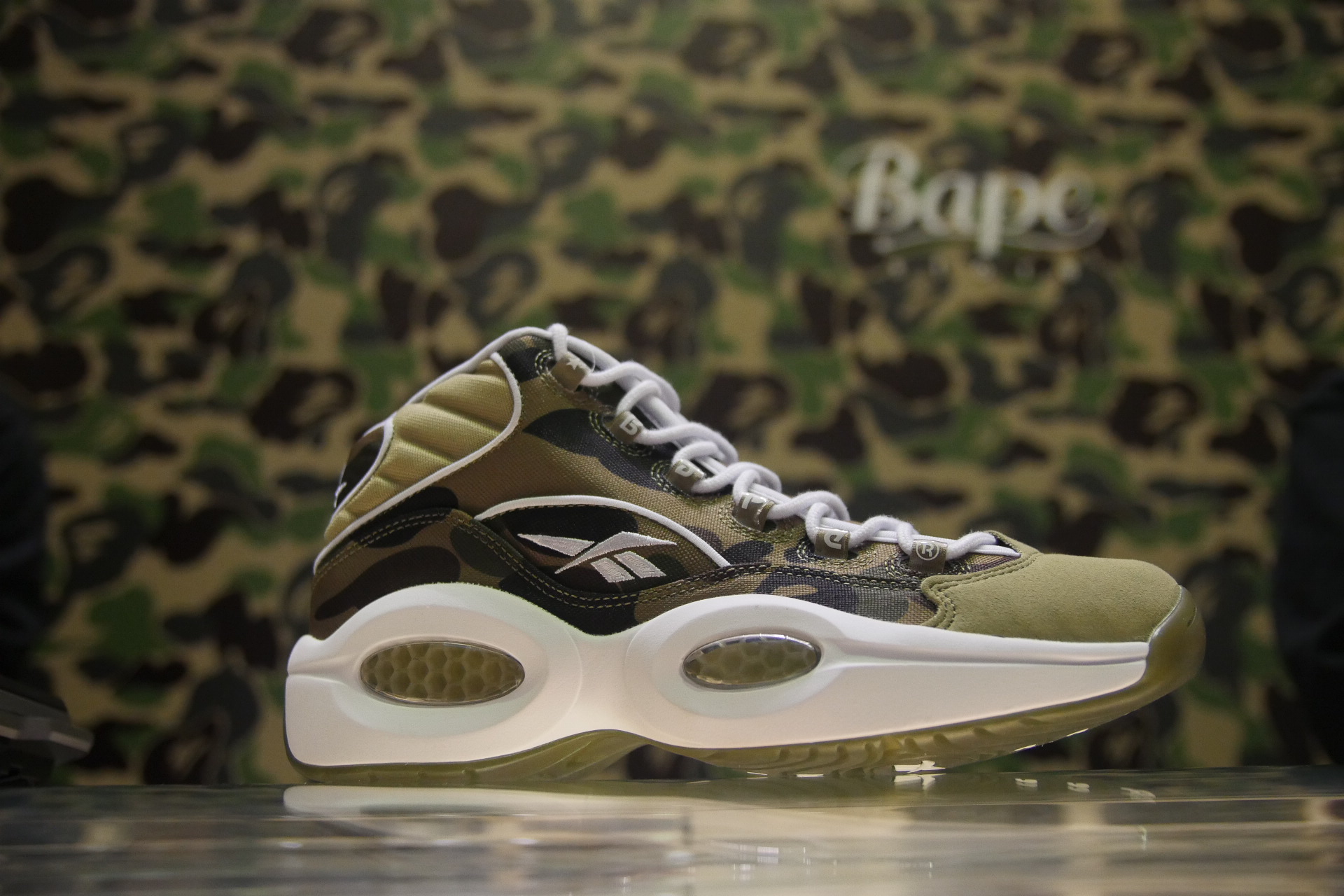 52d564984 Reebok Question x mita sneakers x BAPE Pictorial & Release Details ...