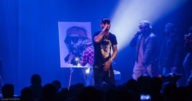 All Eyes Were Channeled to Dave East During Howard Theatre Performance