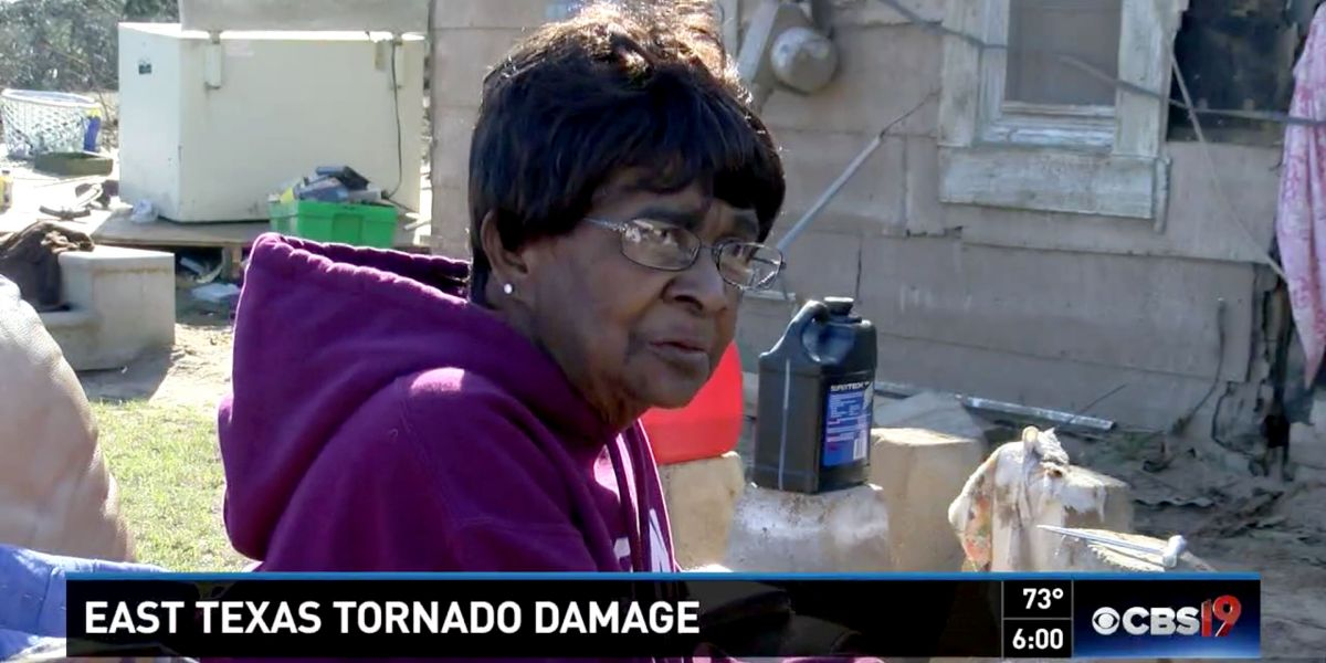 News National Woman Son Ride Out TX Tornado In Bathtub