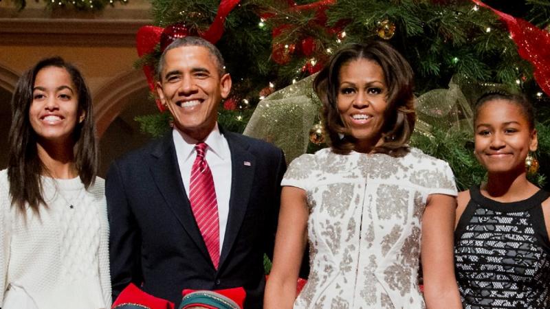 barack obama and family 2017 - photo #7