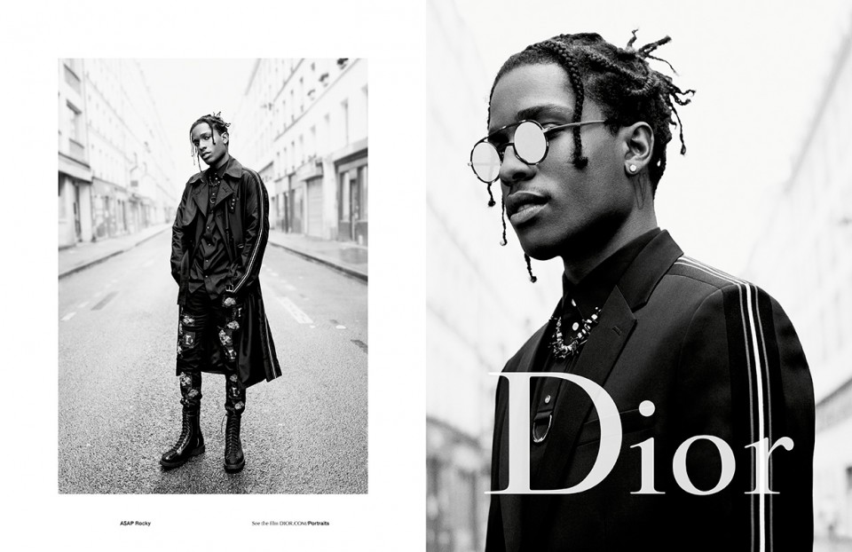 Style Sector: A$AP Rocky And Others For Dior Homme's SS17 ...