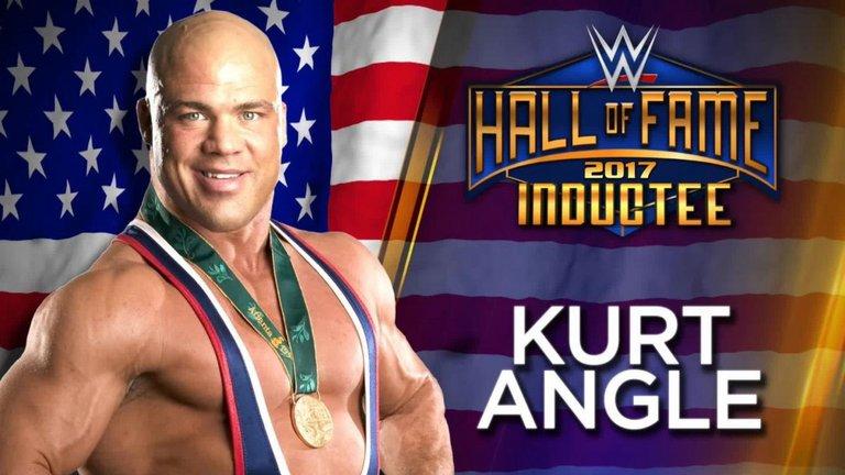 skysports kurt angle wwe hall of fame  wrestling