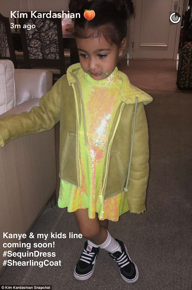 Kim And Kanye West Plan To Launch A Children S Clothing