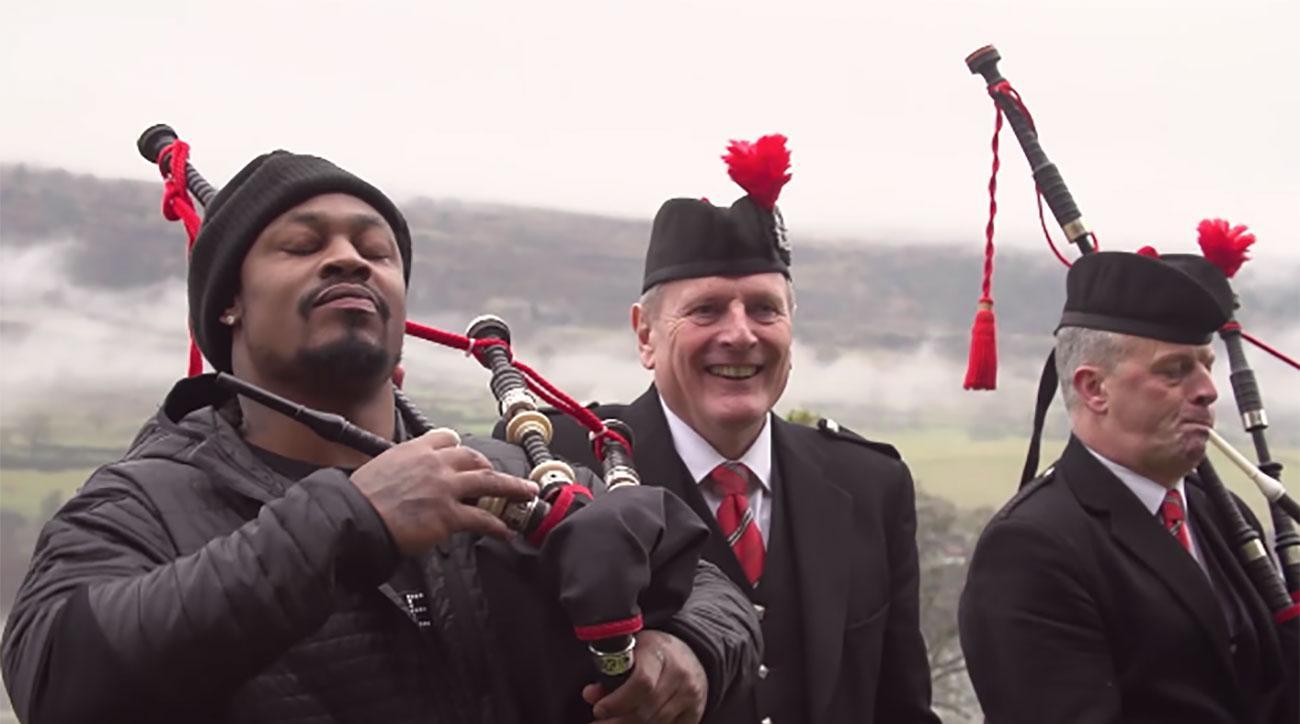 marshawn lynch scotland super bowl video