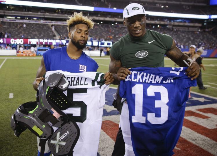 jets giants football