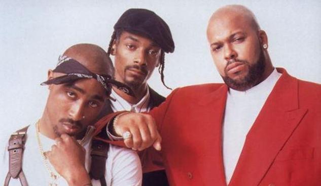 Death Row Records tupac snoop suge