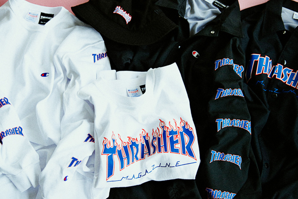 beams thrasher champion collab