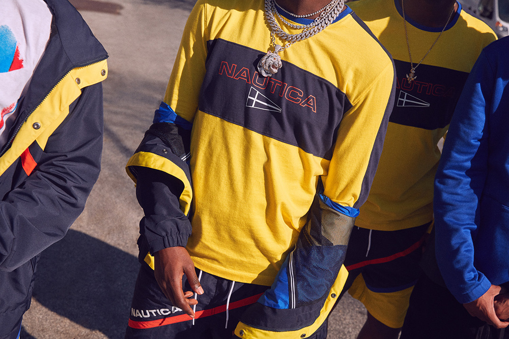 lil yachty sailing team urban outfitters nautica  spring collection