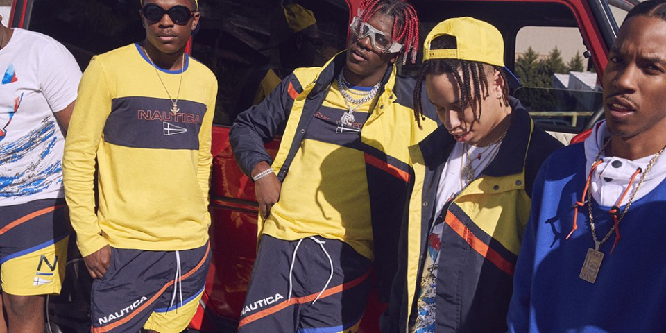 lil yachty sailing team urban outfitters nautica  spring collection tw