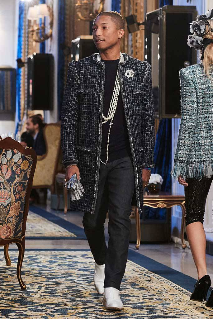 7403daa8fbb1 Style Sector: Pharrell Williams Stars In Chanel's Gabrielle Bag Campaign
