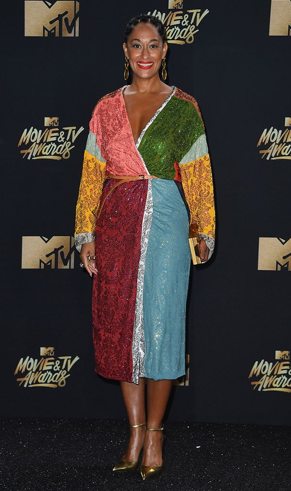 mtv movie and tv awards red carpet  tracee
