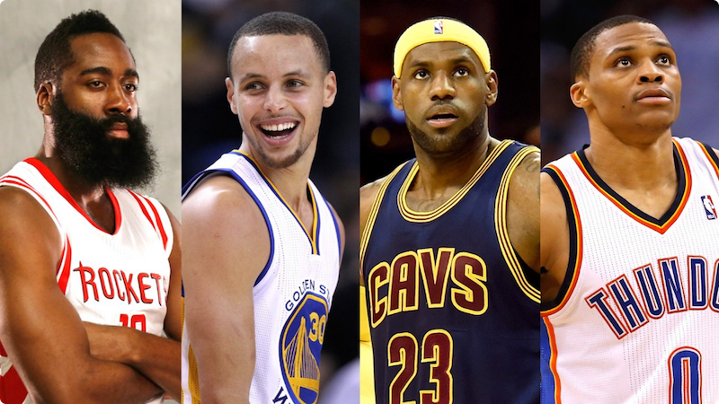 030915-sports-nba-mvp-race-so-far-James-Harden-Stephen-Curry-russell-westbrook-lebron-james