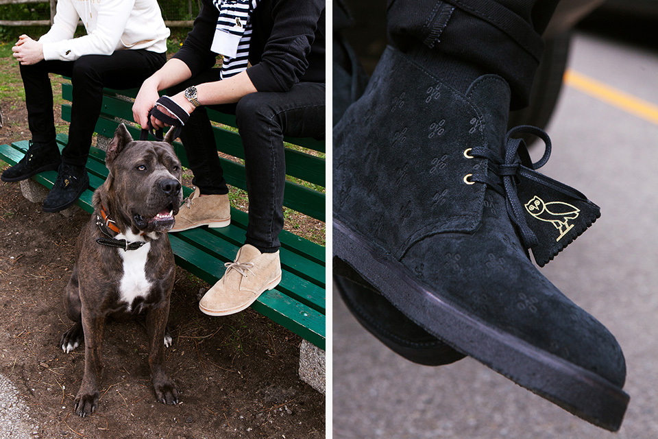 drakes ovo clarks desert boots release