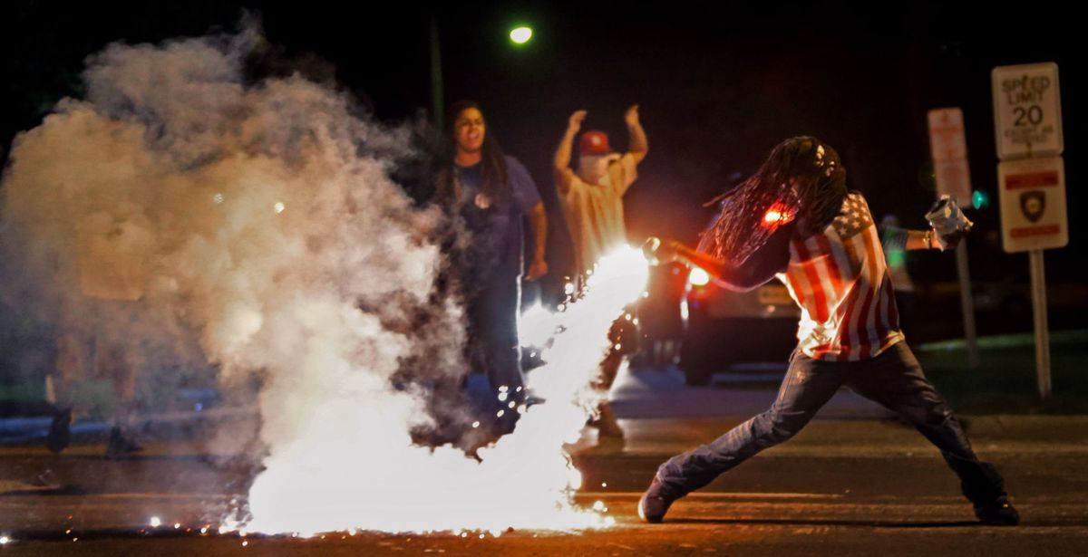 Ferguson protestor pictured in iconic photo found dead from self-inflicted gunshot wound