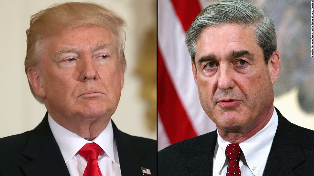 White House officials deny claim Trump seeking Mueller firing