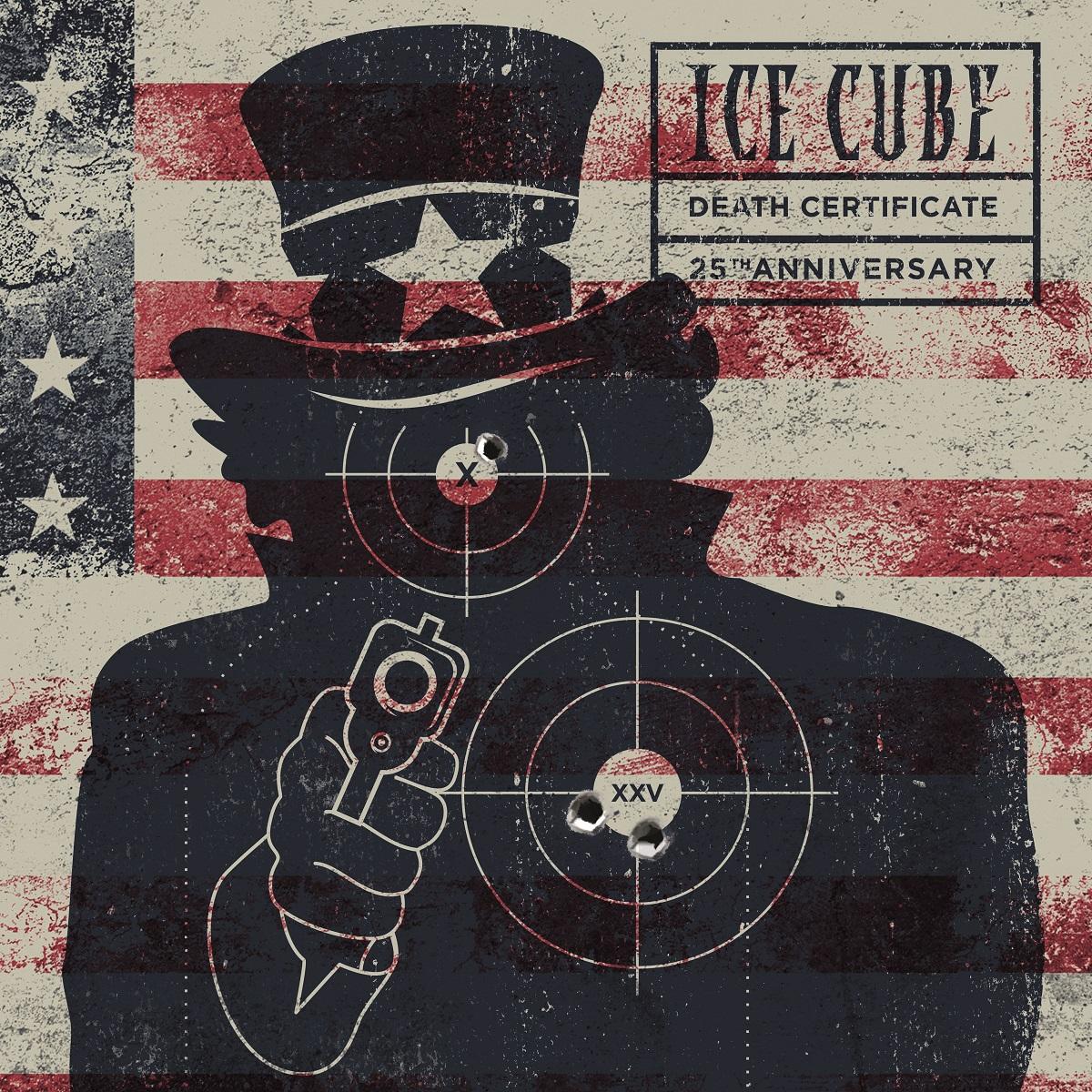 Ice Cube Death Cerfiticate art