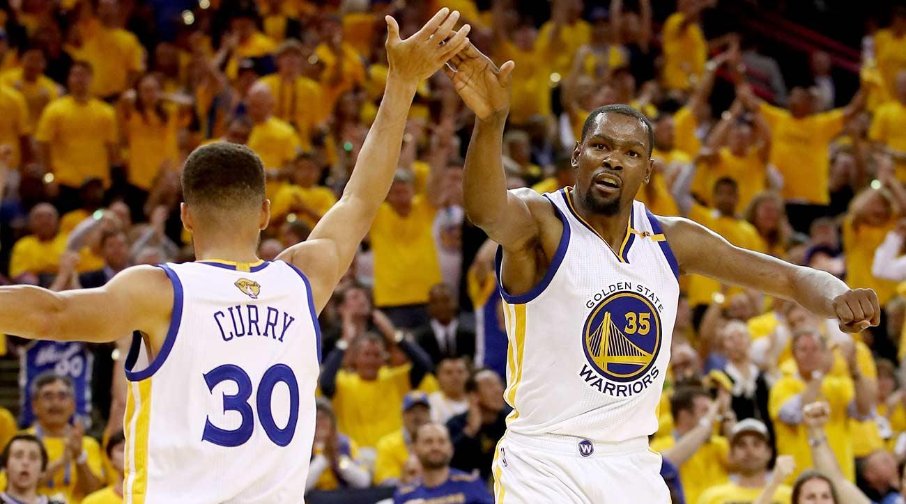 nba finals game  curry durant