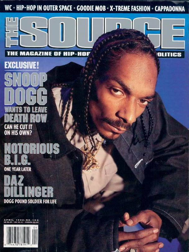 IN FROM THE COLD - Snoop Dogg, the rapper who helped make the 'Death
