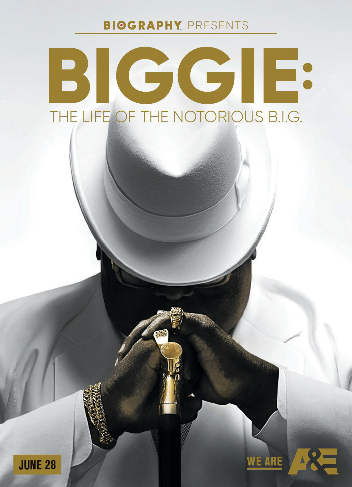 AE Biggie Biography series  a billboard embed