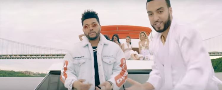 French Montana and The Weeknd vis Youtube