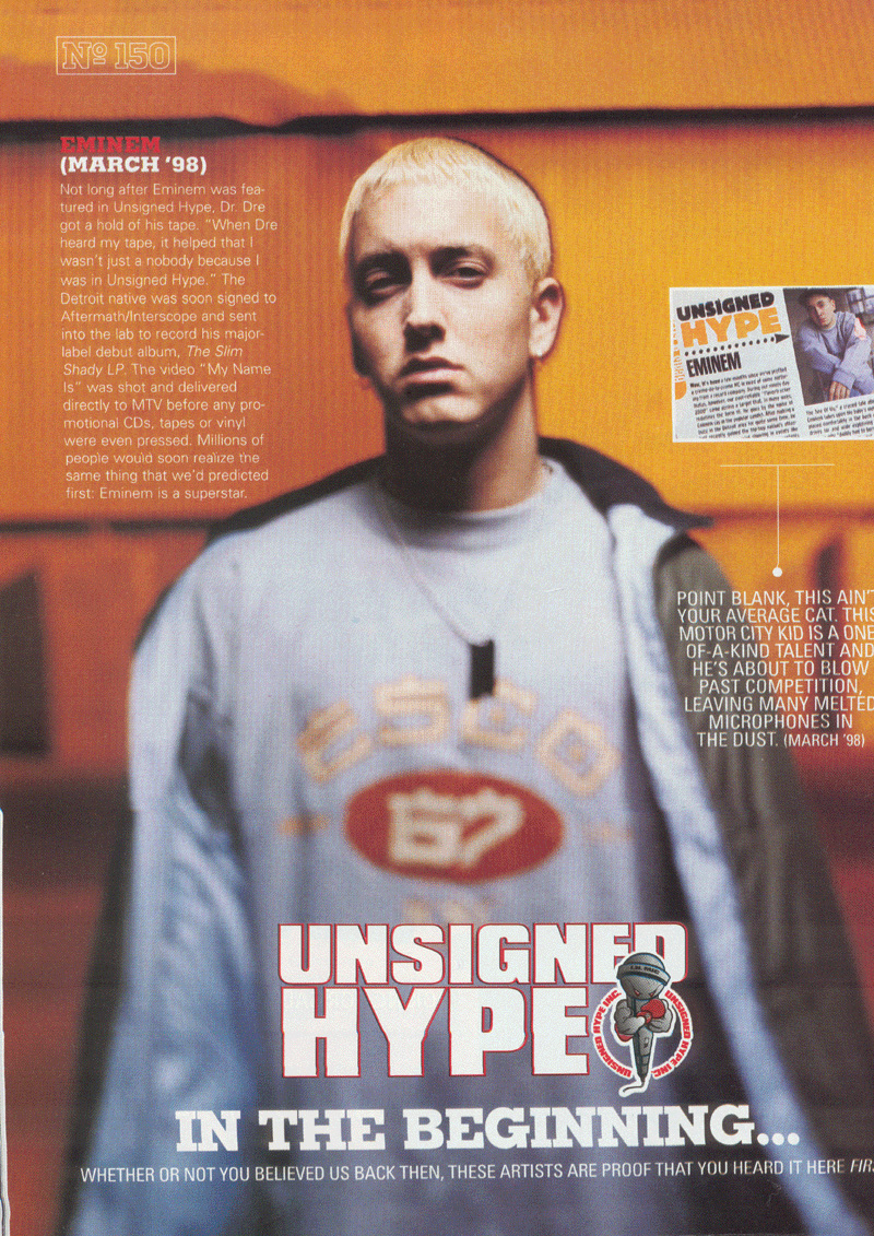 Eminem Unsigned Hype New