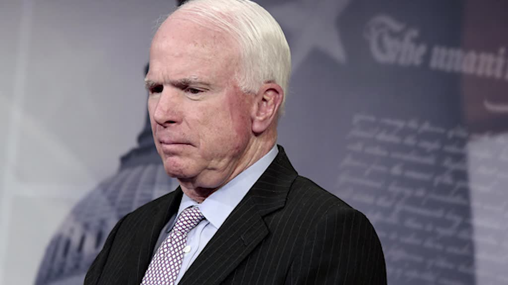 Senator John McCain Rails Against Trump for 'Disgraceful' Meeting With Putin