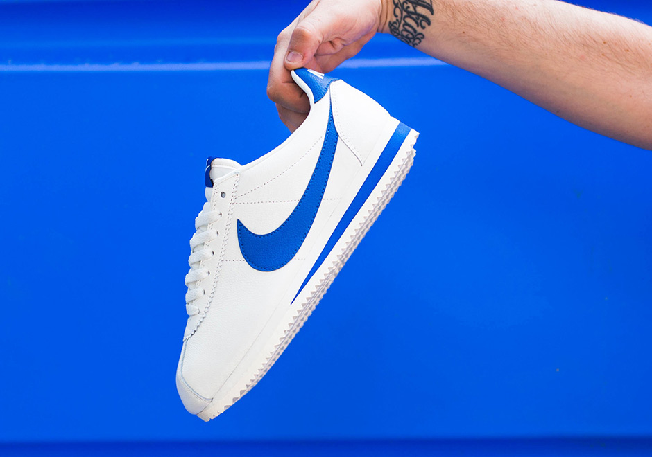 wholesale dealer 07fb7 0cc59 ... germany kickd out the nike cortez classic added in a blue jay colorway  7f094 76860