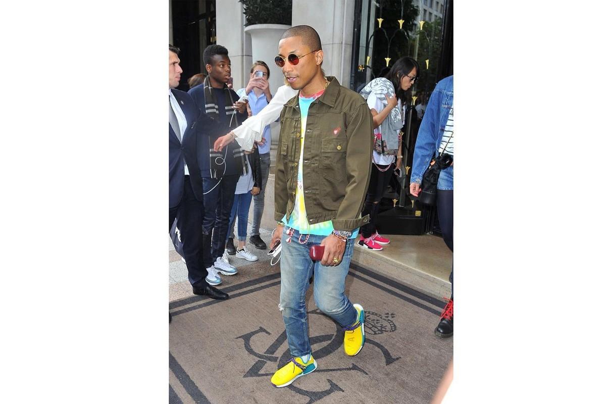 pharrell adidas human race nmd yellow gallery