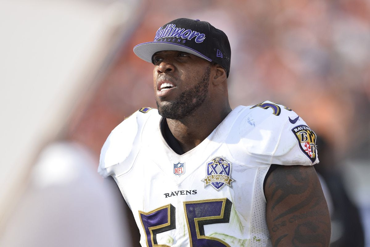 NFL Player Terrell Suggs Talks Life After Football And The Hit HBO