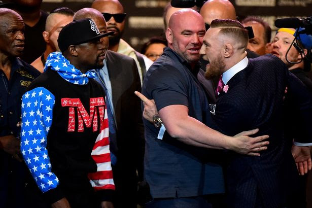 Conor McGregor claims he will knock Floyd Mayweather out 'inside four rounds'