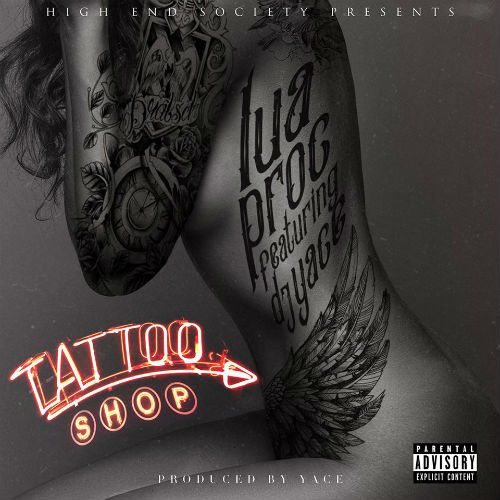 On the rise pittsburgh rapper lua proc drops tattoo shop for Tattoo shops in pittsburgh pa