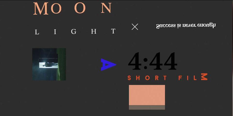 Moonlight Short via Tidal