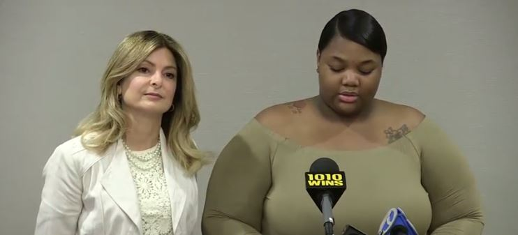 Quantasia Sharpton and Lisa Bloom via YouTube