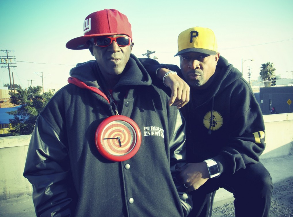 Chuck D and Flavor Flav Photo by Piero F Giunti