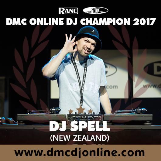 New Zealand's DJ Spell Is The 2017 World DMC Online DJ Champion