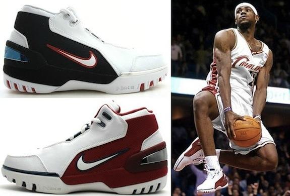Nike LeBron Air Zoom Generation  I