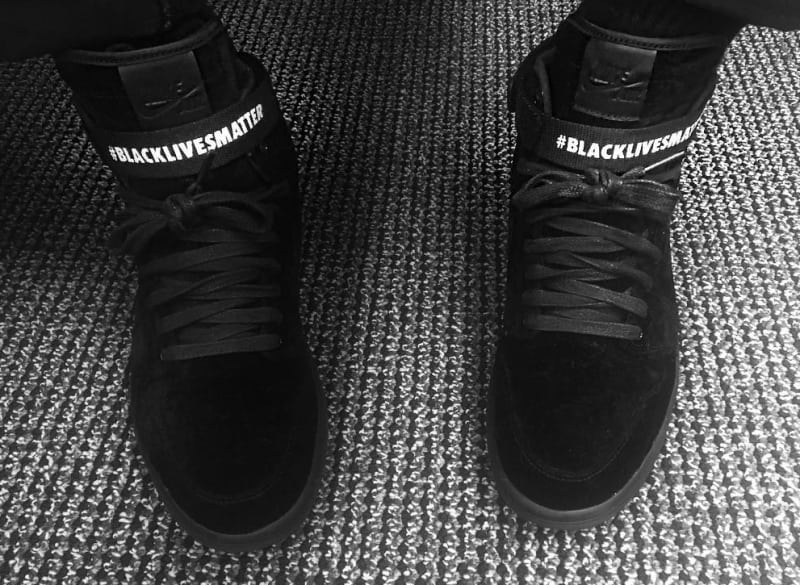 black lives matter air jordan