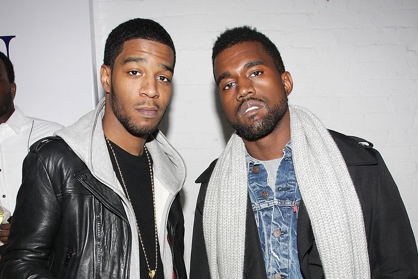 kid cudi and kanye weston february   in new york city