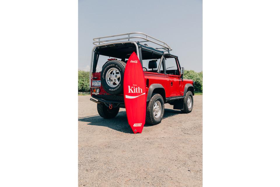 kith coca cola lookbook