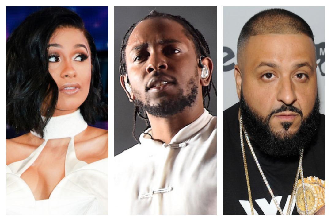 Cardi B Kendrick Lamar, DJ Khaled Lead BET Hip-Hop Awards Nominees