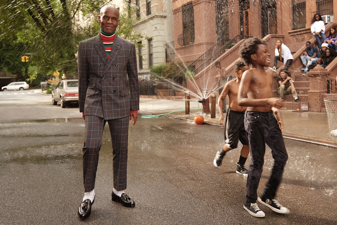 197d98e06a Dapper Dan Has Linked With Gucci for Fall Winter 2017 Tailoring Campaign
