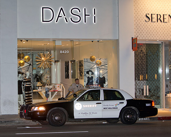 kardashian store dash melrose burglarized ftr