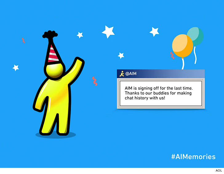 AIM is Signing Out For Good After 20 Years