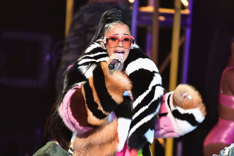 Cardi B Previews New Freestyle at Delaware State University's Homecoming