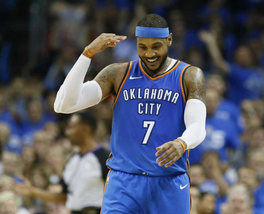 3078b56fbe0 Carmelo Anthony Hints At New Home in Houston