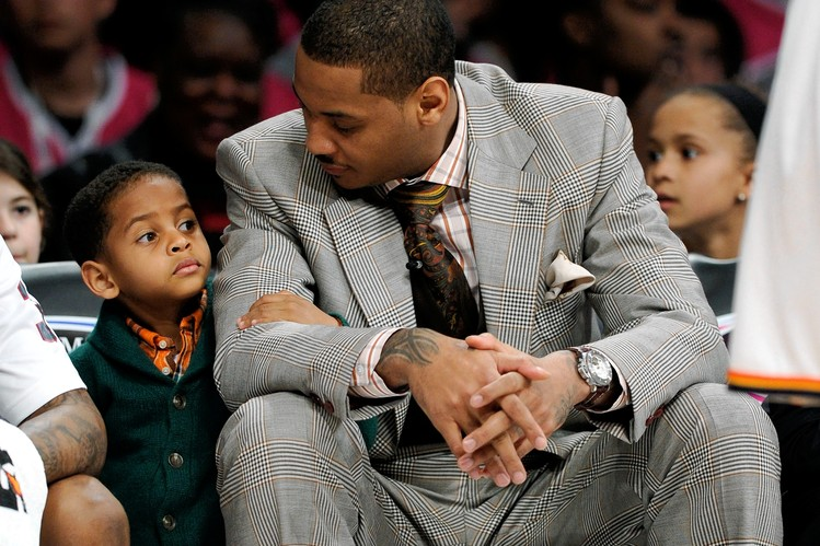Carmelo Anthony's Son Initially Suggested he Trade to Oklahoma City Thunder