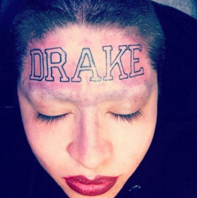 Drake fan